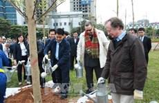 Hanoï : plantation de 100 arbres offerts par la Finlande