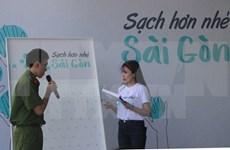 Ho Chi Minh-Ville lance un programme de communication sur l'hygiène environnementale