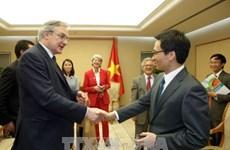 Une délégation de l'Association de la Presse Etrangère en Suisse et au Liechtenstein au Vietnam