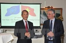 Le groupe des députés d'amitié avec le Vietnam au sein du PE souffle ses deux bougies