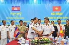 Réunion sur la patrouille maritime commune Vietnam-Cambodge