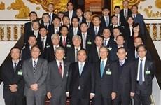 Le PM rencontre des représentants de la Fédération des organisations économiques japonaises
