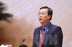 Le Quoc Phong réélu premier secrétaire du Comité central de l'UJCH