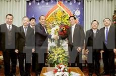 Noël : le vice-Premier ministre Truong Hoa Binh félicite les catholiques et protestants