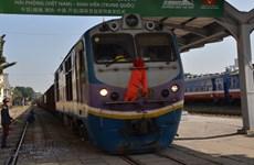 Lancement d'un service de train de fret entre Hai Phong et Kaiyuan (Chine)