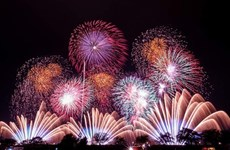 Le 9e Festival international des feux d'artifices de Dà Nang prévu en avril 2018