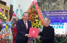 Des dirigeants formulent des vœux de Noël dans le Tây Nguyên