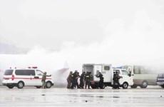 Khanh Hoa : un exercice antiterroriste à l'aéroport de Cam Ranh