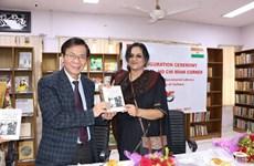 Ouverture de la première bibliothèque Vietnam-Ho Chi Minh en Inde