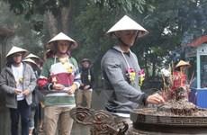 De premiers touristes étrangers de 2018 visitent Phu Tho