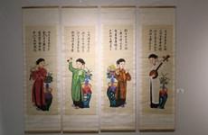 S-River présente son exposition sur les estampes populaires de Hàng Trông