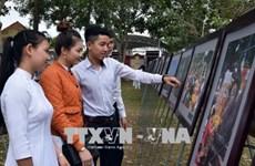 Exposition sur les patrimoines culturels de la Communauté de l'ASEAN à Kon Tum