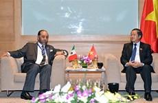 APPF-26 : l'AN vietnamienne souhaite resserrer ses liens avec le Parlement mexicain