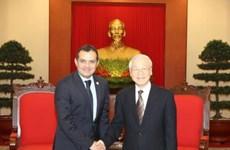 Nguyen Phu Trong appelle à renforcer les relations entre le Vietnam et le Mexique