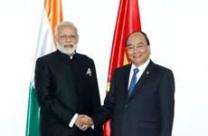 Entretien Nguyen Xuan Phuc-Narendra Modi