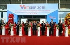 L'exposition Vietship 2018 attire de nombreuses entreprises internationales