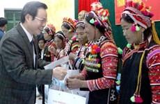 Une délégation de l'AN à Lai Châu pour offrir des cadeaux à l'occasion du Têt