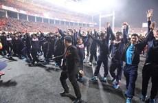 Cérémonie en l'honneur de l'équipe du Vietnam de football U23