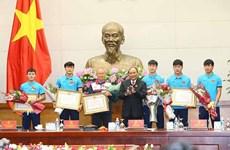 Le sang-froid a aidé le Vietnam à récolter une performance historique pour le football national