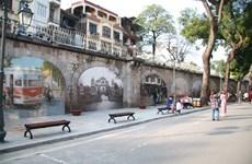Hanoï : Ouverture d'un espace d'art public dans la rue Phung Hung