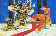 Exposition sur l'art du Tuong à Ho Chi Minh-Ville