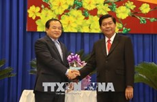 Renforcement des relations Svay Rieng-Long An