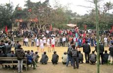 La fête et les jeux populaires du village de Ngoc Tân