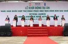 Vietnam-R. de Corée : coopération dans le règlement des conséquences des bombes et mines