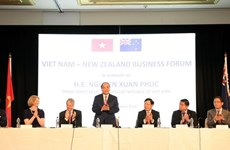Le Premier ministre au Forum d'affaires Vietnam - Nouvelle-Zélande