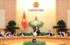 La résolution de la réunion périodique de février du gouvernement