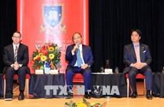 Le Premier ministre Nguyen Xuan Phuc visite l'Université de Waikato (Nouvelle-Zélande)