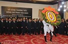 Les funérailles nationales pour l'ex-PM Phan Van Khai en images