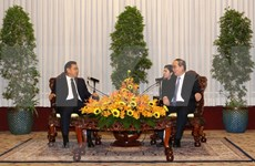 Ho Chi Minh-Ville souhaite renforcer sa coopération avec le Laos