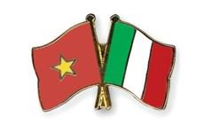 Félicitations à l'occasion du 45e anniversaire des relations Vietnam-Italie