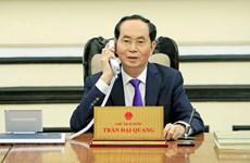 Conversation téléphonique entre Tran Dai Quang et Vladimir Poutine