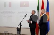 Les 45 ans des liens diplomatiques Vietnam-Italie célébrés à Rome