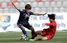 Football féminin : le Vietnam a été battu par le Japon à Asian Cup 2018