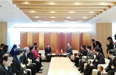 Ho Chi Minh-Ville cherche des opportunités de coopération à Nagano (Japon)