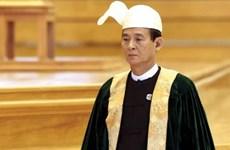 Le nouveau président du Myanmar promet d'accélérer le développement national