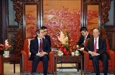 Une délégation du PCV en visite de travail en Chine