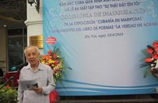 Des peintures et des poèmes du Héro cubain Antonio Guerrero Rodriguez présentés à Hanoï