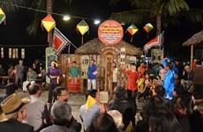 Réception du certificat de l'UNESCO pour l'art du « bài choi »