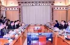 Hô Chi Minh-Ville et la ville japonaise de Sakai coopèrent sur les ressources humaines
