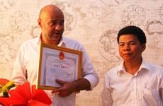 Félicitations à deux étrangers pour le sauvetage de deux enfants à Da Nang