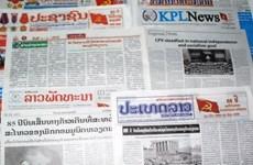L'agence de presse laotienne KPL salue le soutien de l'Agence vietnamienne d'Information