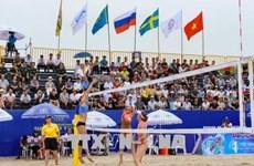 Ouverture du tournoi mondial de beach-volley féminin Tuan Chau-Ha Long 2018