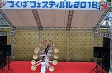 La culture vietnamienne se distingue lors d'une fête d'échange culturel au Japon