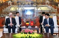 Hanoi et les Flandres coopèrent dans l'aménagement urbain et la ville intelligente