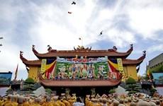 Des visites de responsables à l'occasion du 2562e anniversaire de Bouddha