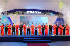 Une usine de climatiseurs de 72 millions de dollars voit le jour à Hung Yên